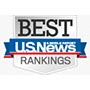 US News and World Report rankings logo.