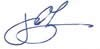 James Leja's signature.