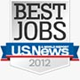 U.S. News and World Report best jobs logo.