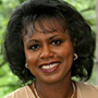 Head and shoulders portrait of Anita Hill.