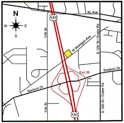 Map of 5272 W Michigan Ave, Kalamazoo MI 49006