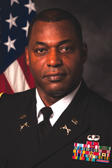 Colonel Glennie E. Burks