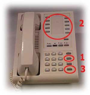 Photo of an analog single line plus phone