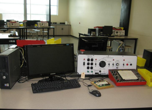 ECE lab equipment