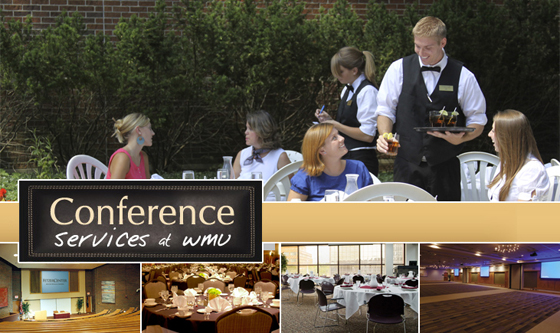 Conference services at WMU.