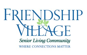 friendship village senior living community logo