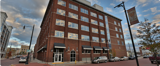 exterior of WMU Grand Rapids downtown