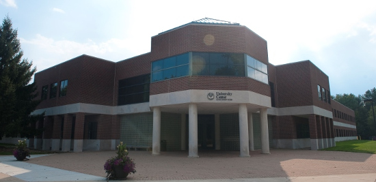 building that is Clinton Township's WMU center campus