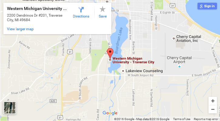map of WMU-Traverse City