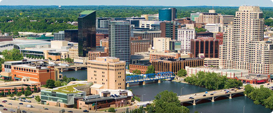 photo of downtown Grand Rapids