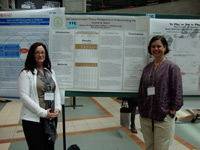 Photo of Heather Highhouse and Dr. Allison Kelaher-Young.