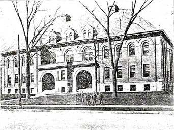 The old Vine Street school - 1904