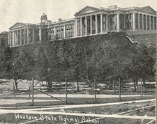 East Hall in 1910