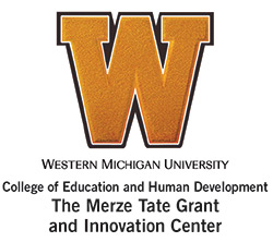 WMU Merze Tate Grant and Innovation Center logo.