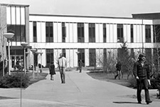 A view of Sangren Hall in 1973.