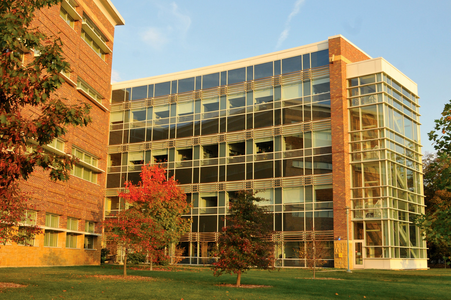 Photo of WMU's College of Health and Human Services.