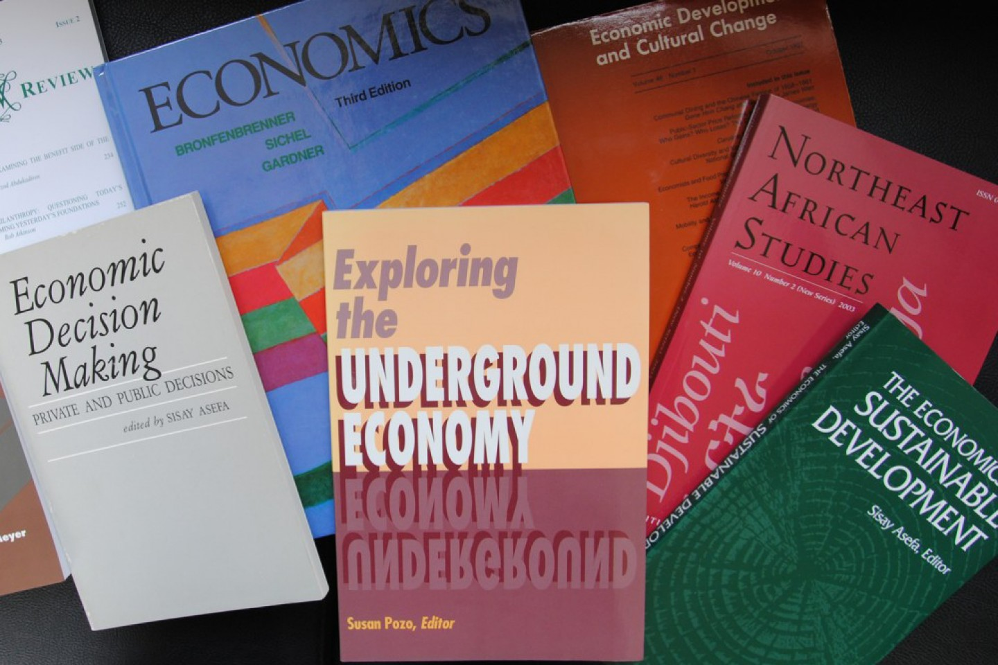 Grouping of economic textbooks.