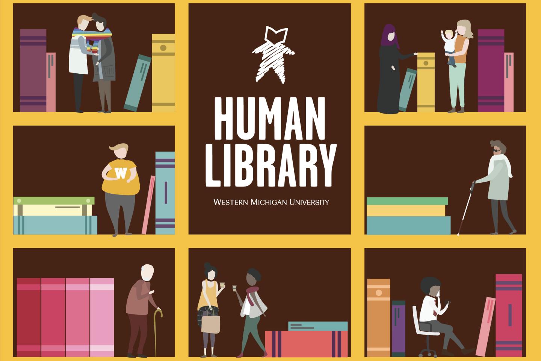 WMU 2020 Human Library logo