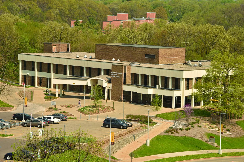 A photo of Sindecuse Health Center