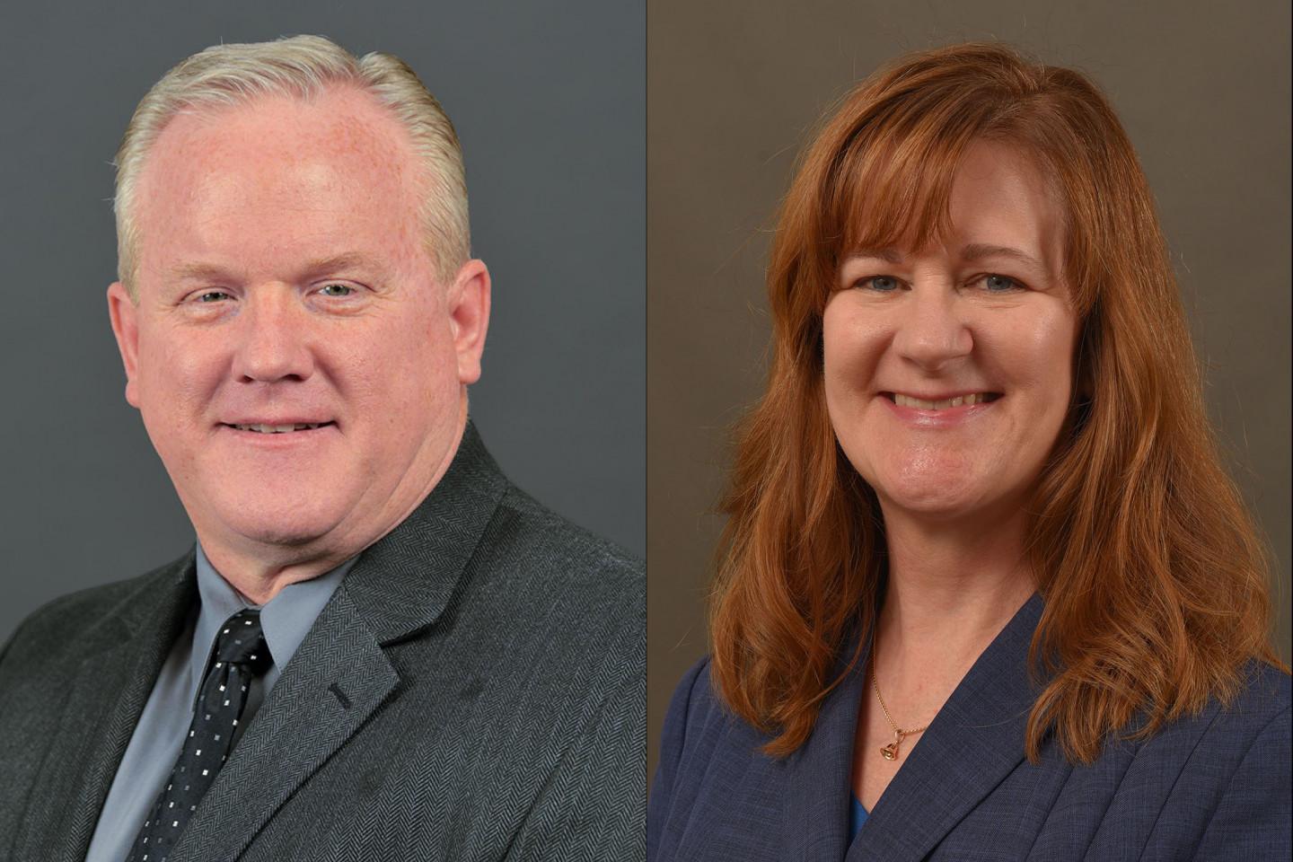 Dr. Steven Butt and Dr. Christine Byrd-Jacobs.