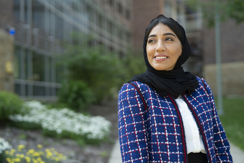 A photo of Khadejah Al Muhaisin.