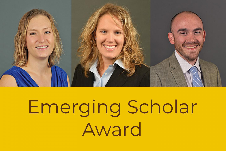 Drs. Megan Grunert Kowalske, Kristina Lemmer and Adam Mathews