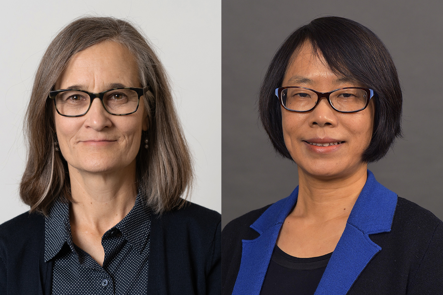 Dr. Ann Miles and Dr. Ying Zeng
