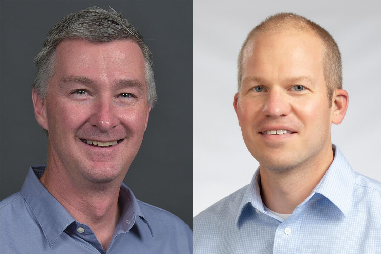 Drs. James Eckert and Brian Gogan