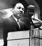 MLK speaking at a WMU event