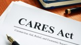 CARES Act paper and pen graphic