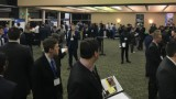 photo of students at the spring 2018 ISM career night