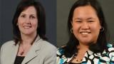 two literacy studies faculty members