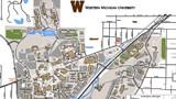 WMU campus map