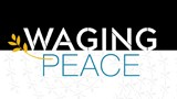 Waging Peace art - from the cover of the W Magazine
