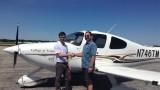WMU Aviation student Joel Moriarty
