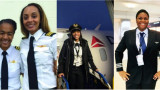 WMU Alumni and Sisters of the Sky Members - Monique Grayson, Alexis Brown, Micah Clark and Brianna Jackson
