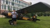WMU Aviation Management and Operations Student Matthew Pruitt