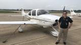 WMU Aviation Flight Science Student Jason Fink