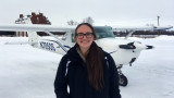 WMU Aviation Flight Science Student Makenna Staudacher