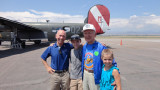 WMU Aviation Management and Operations Student Jordan Unter and Family
