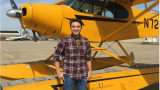 WMU Aviation Flight and Management Student Shane Rembold