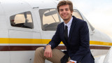 WMU Aviation Flight and Management Student Dylan Mardoian