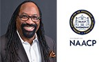 dr. phillip johnson and naacp logo