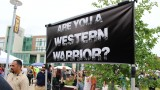 A photo of the Western Warrior banner