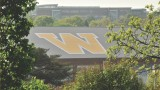 A scenic view of WMU's recreation center
