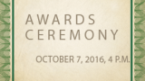 Awards ceremony logo