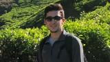 Photo of Joseph Haiduc hiking.