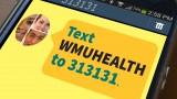 Text WMUHEALTH to 313131