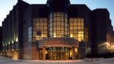 Exterior picture of the Gilmore Theatre Complex at Western Michigan University