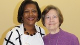Edna Kane-Williams and Mrs. Burian